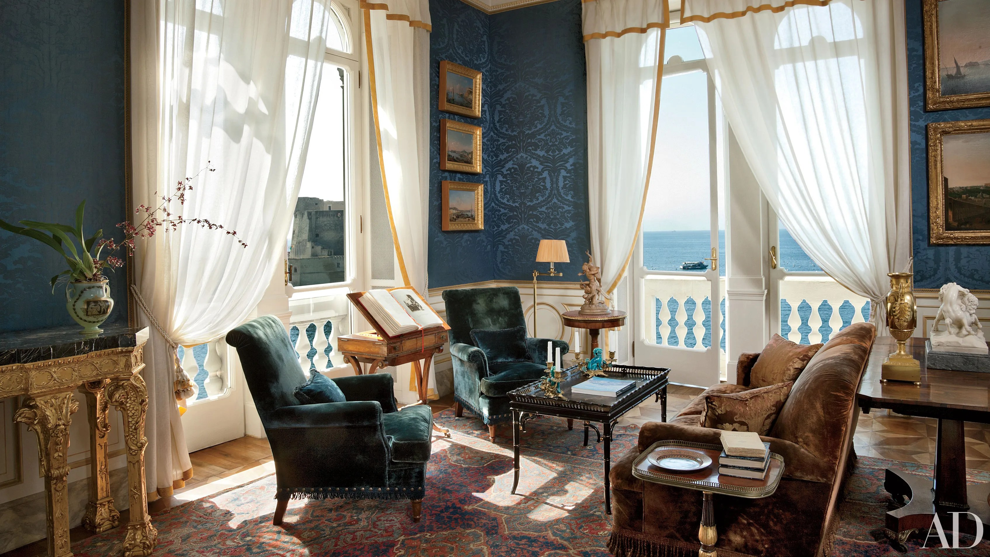 Italianate Style House Interior 19 Romantic Rooms In Italian Homes Architectural Digest