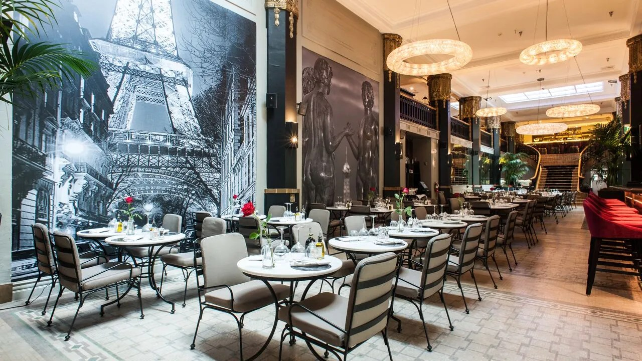 Restaurant Design Paris Le Petit Paris Los Angeles Beth Holden Architectural Digest