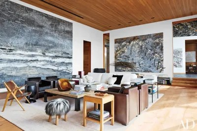 Fall In Central Park Wallpaper 13 Rustic Mountain Homes Architectural Digest