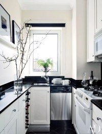 9 Beautiful Black-and-White Kitchens from the AD Archives ...