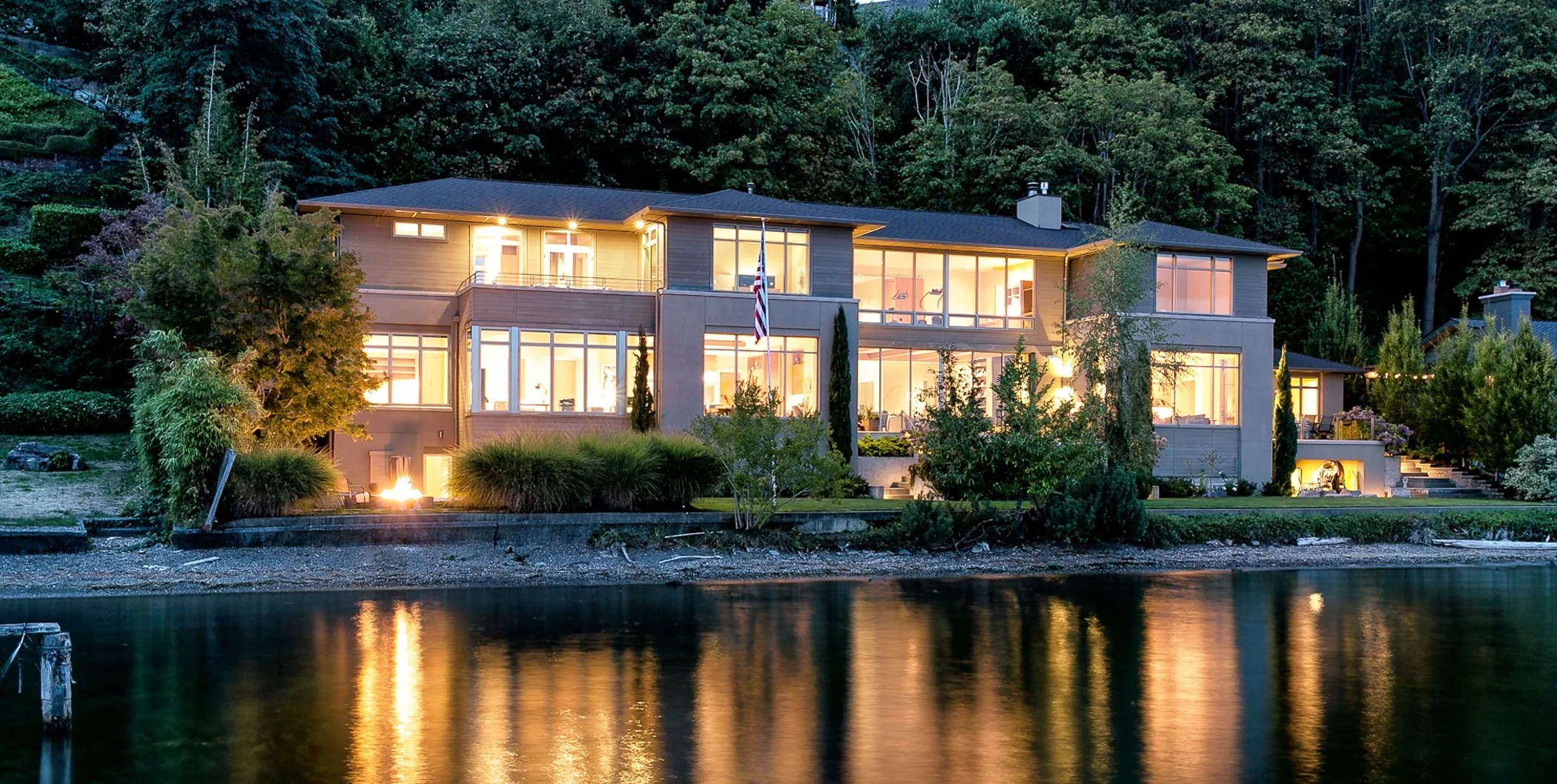 Large Living Room Windows Most Expensive House In Seattle Listed For $13.25 Million