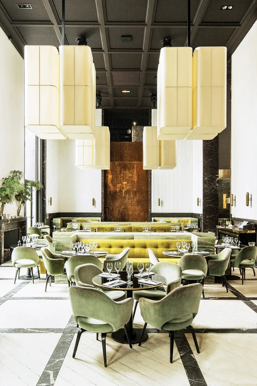 Restaurant Design Paris 15 Supremely Stylish Restaurants In Paris Architectural Digest
