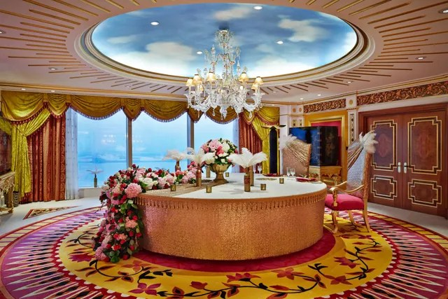 Schlafzimmer Set Dubai The Most Expensive Suite At Dubai's Burj Al Arab Hotel