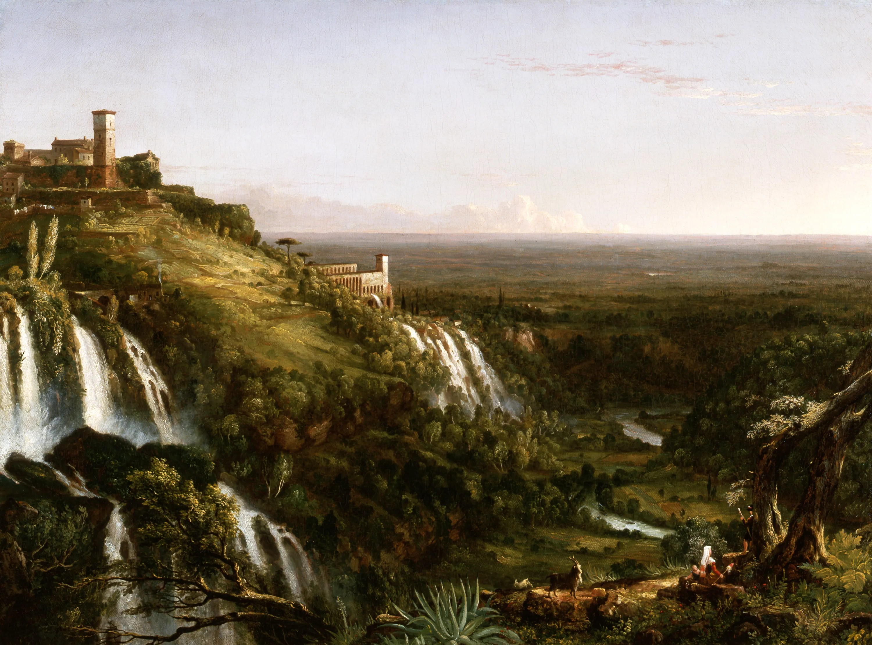 Tivoli Museum Rome Thomas Cole Exhibition Opens In The Catskill Mountains