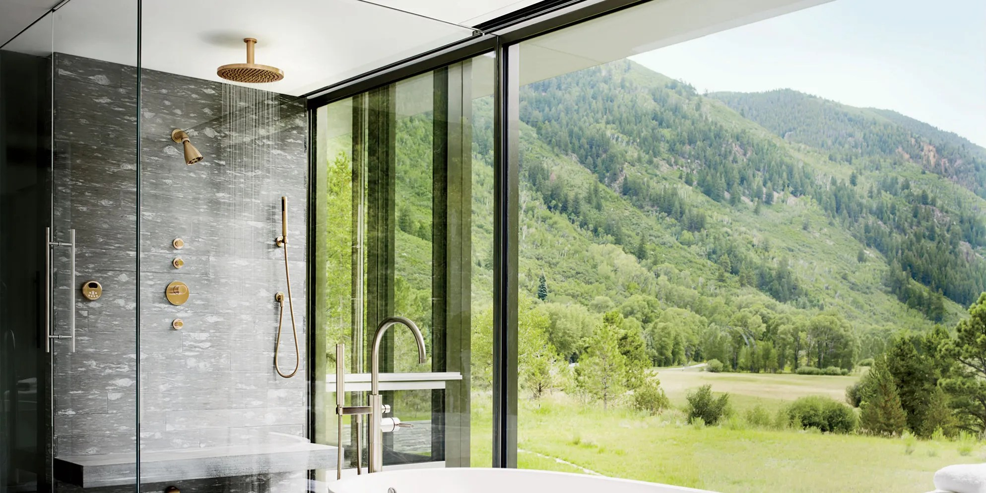 37 Stunning Showers Just As Luxurious As Tubs Architectural Digest