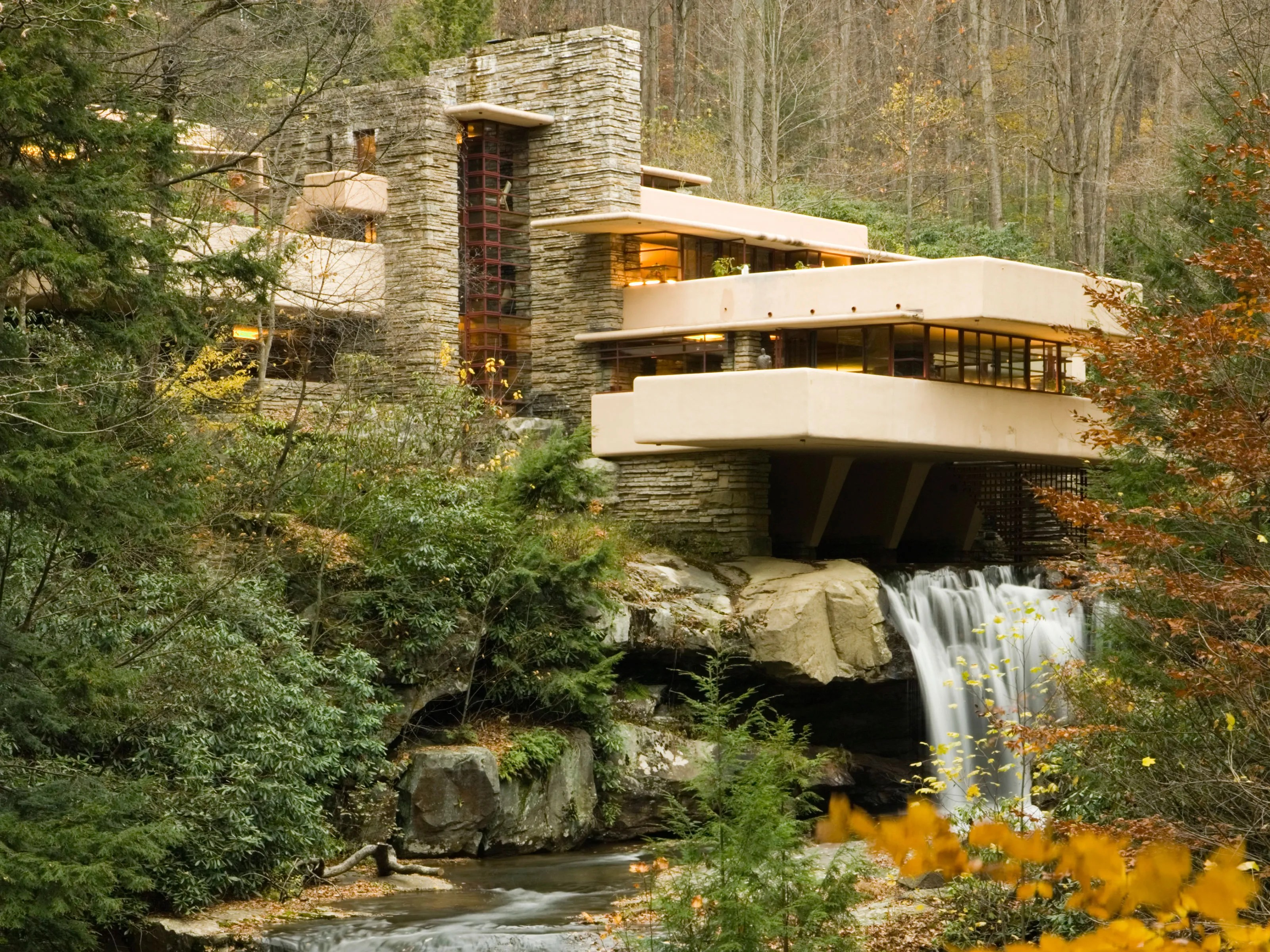 American Paint And Wallpaper Fall River Flood Causes Damage At Frank Lloyd Wright S Fallingwater