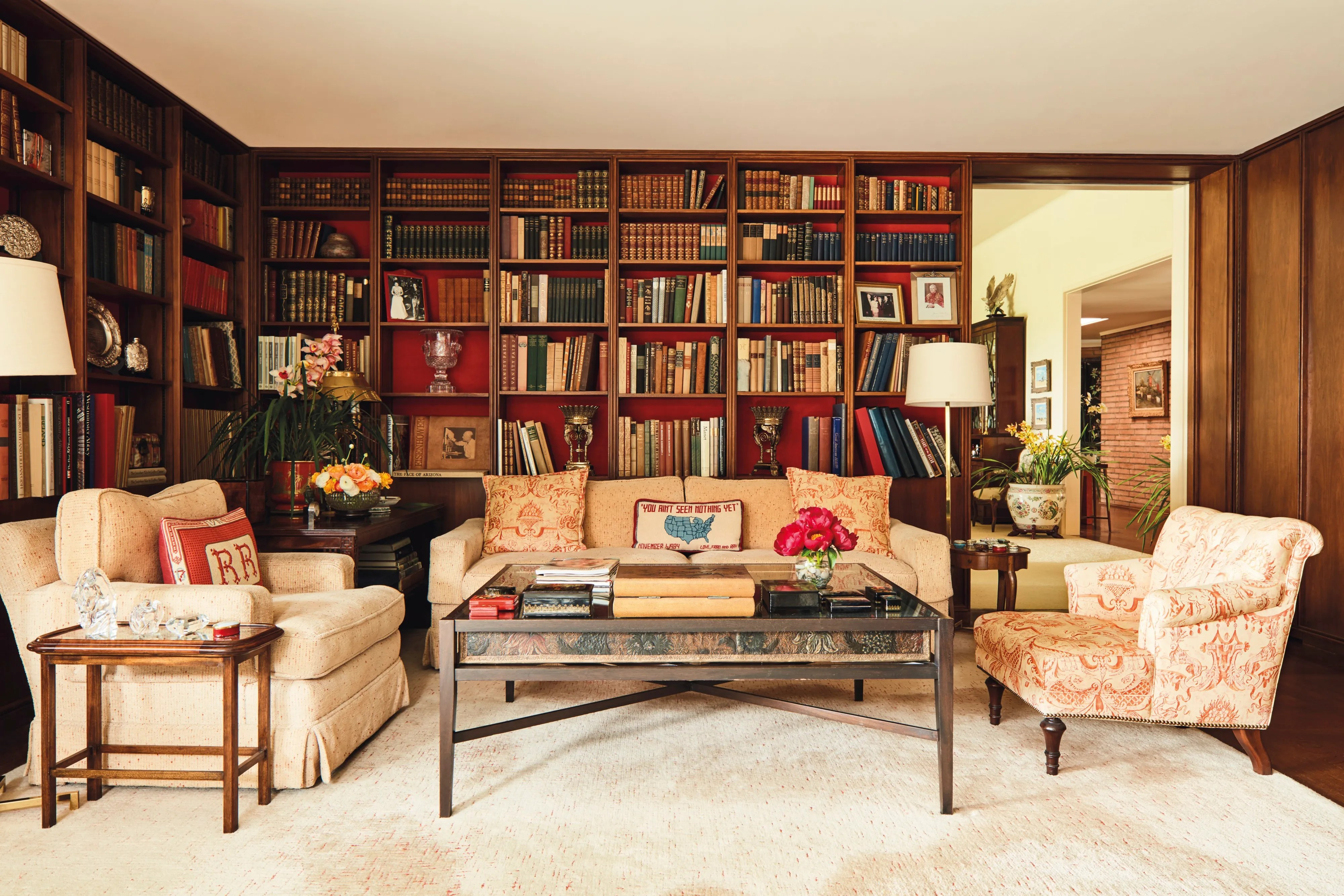 See Inside Ronald And Nancy Reagans Bel Air Home