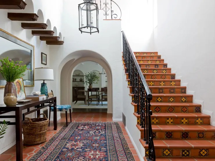House Tour: A Stunning Spanish Colonial Revival In Beverly Hills