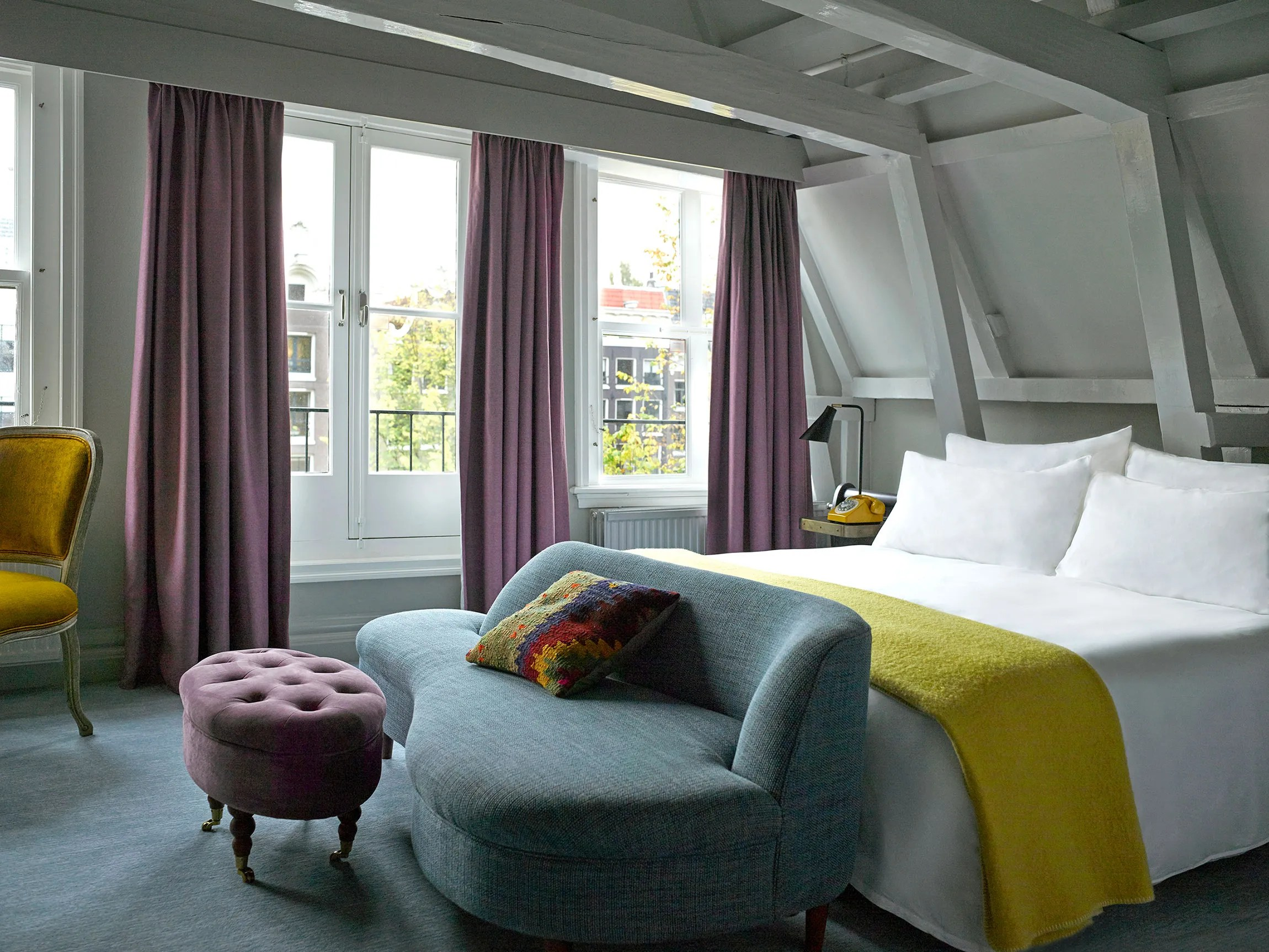 Amsterdam Interior A First Look At Amsterdam S Revamped Hotel Pulitzer