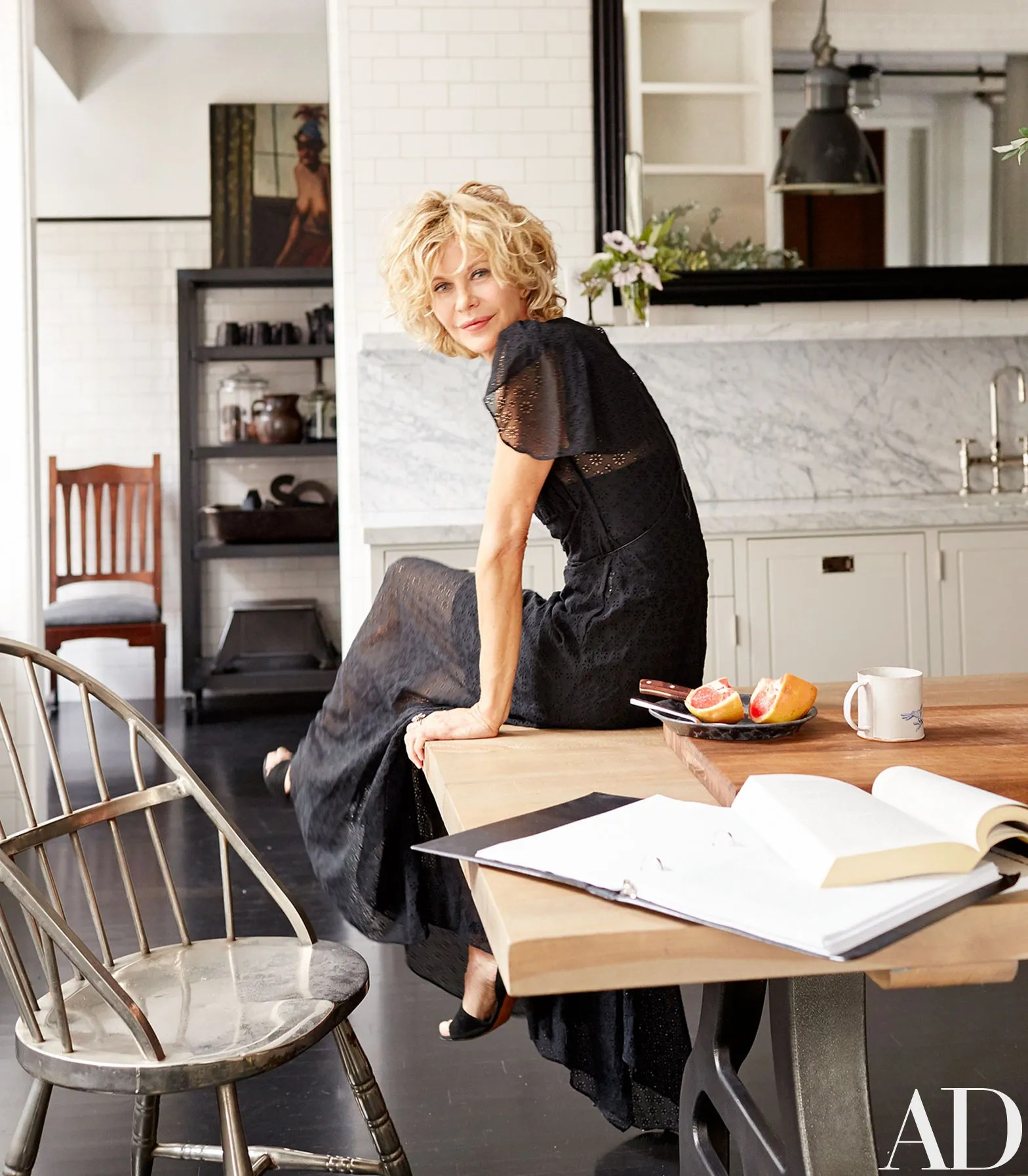 Yes Box Küchen Fronten Go Inside Meg Ryan 39s Home In New York City Architectural