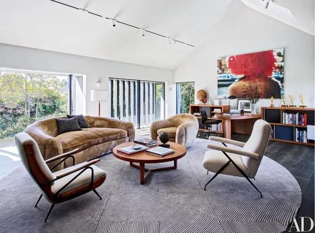 11 Midcentury-Modern Living Rooms Photos Architectural Digest - mid century modern living room