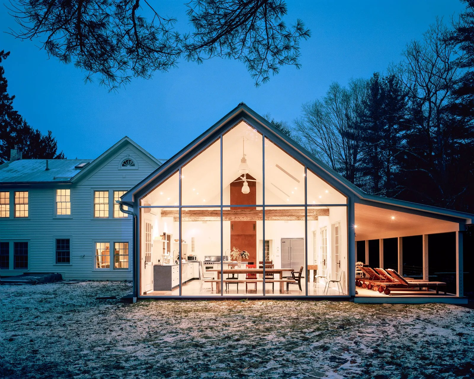 10 Gorgeous Modern Farmhouses Ideas Inspiration Architectural Digest