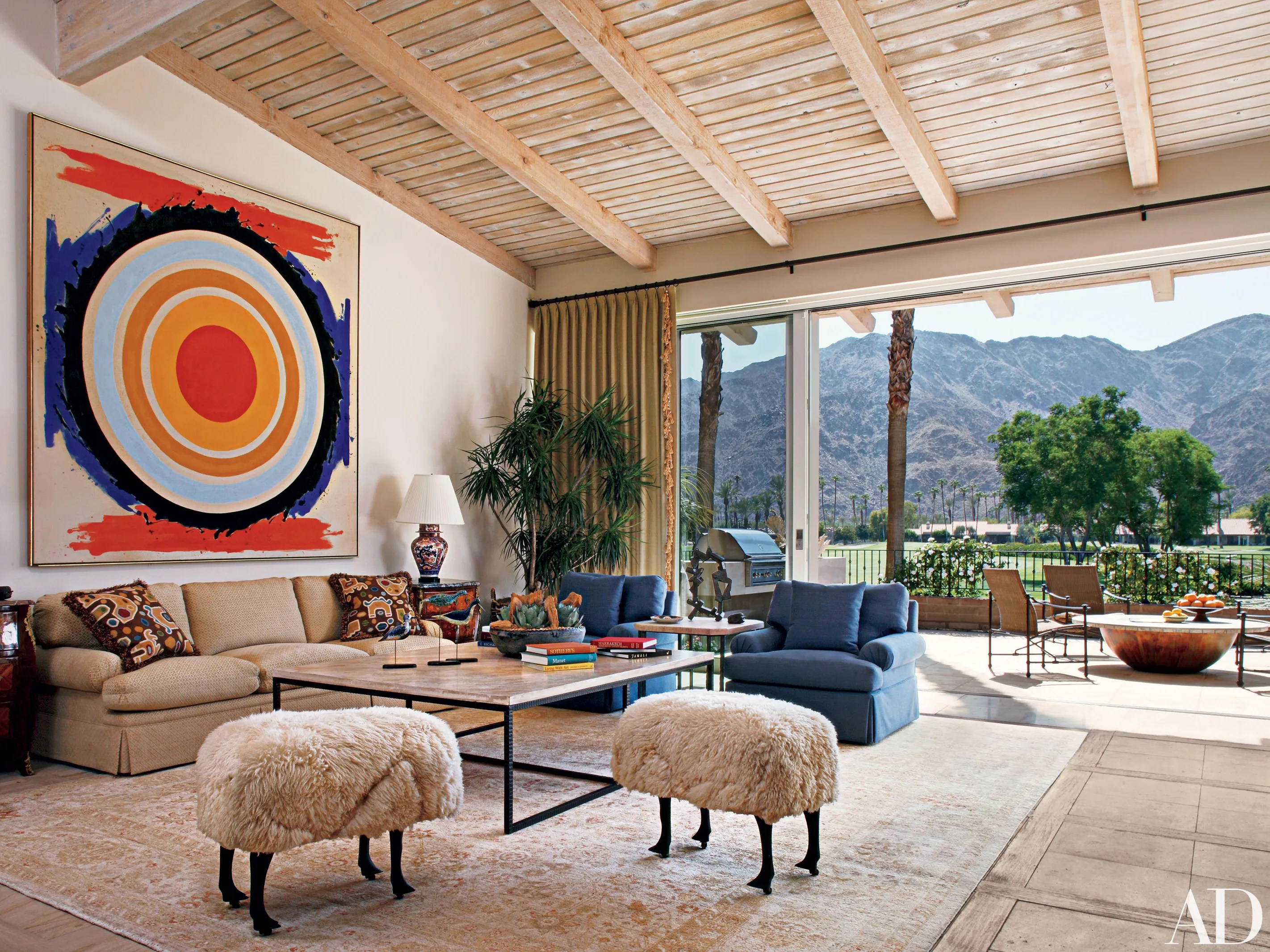 Andy Williams S Eccentric Palm Springs Home Architectural Digest