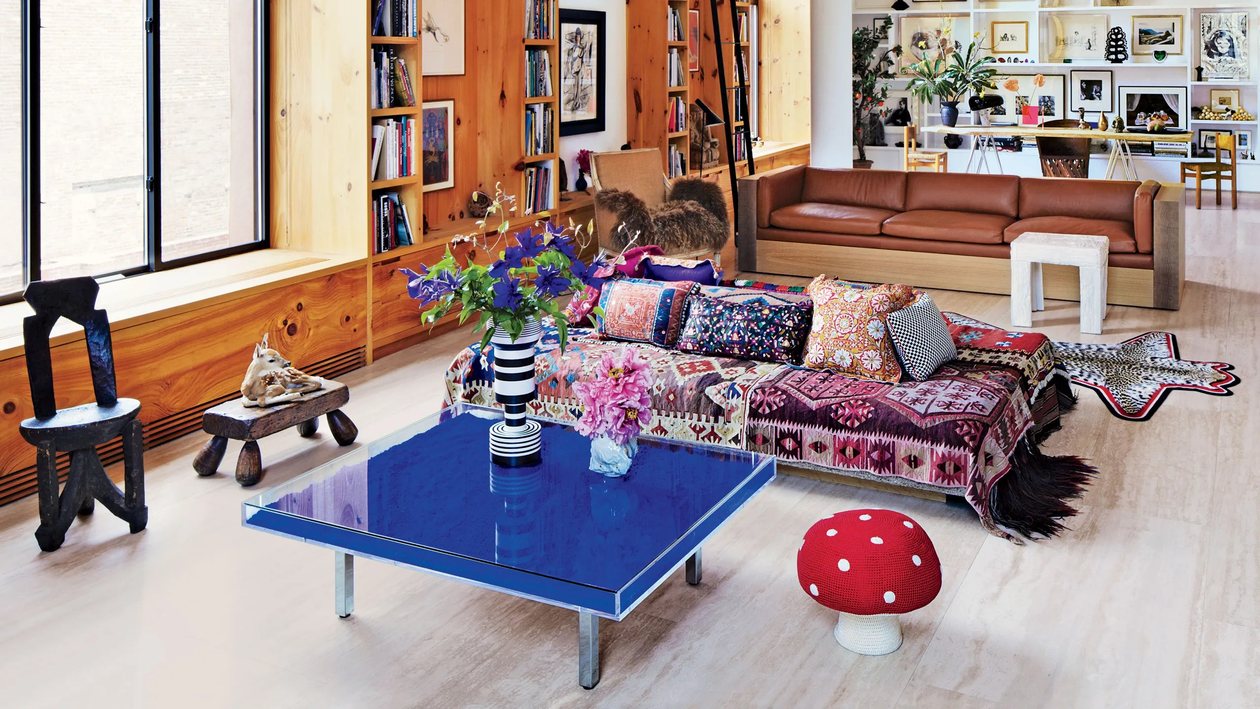 Designer Couch Klein How Yves Klein S Blue Cocktail Table Became A Cult Favorite