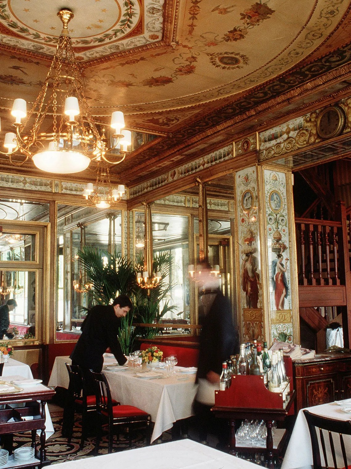 Restaurant Design Paris 6 Of The Most Historic Restaurants In Paris Architectural Digest