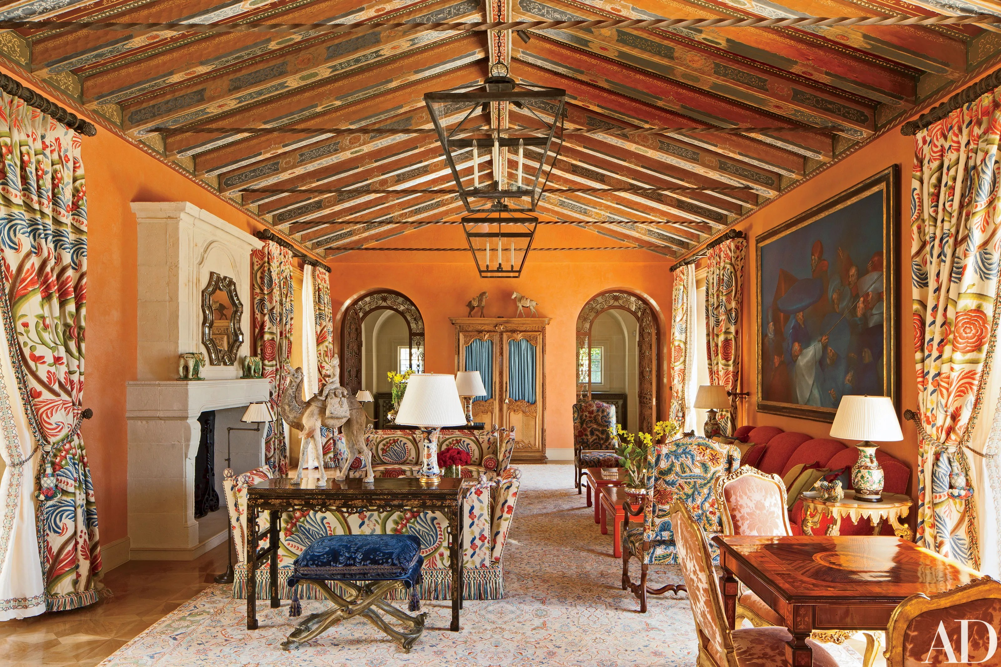 Juan Pablo Molyneux Crafts A Splendid Villa In Pebble Beach Architectural Digest
