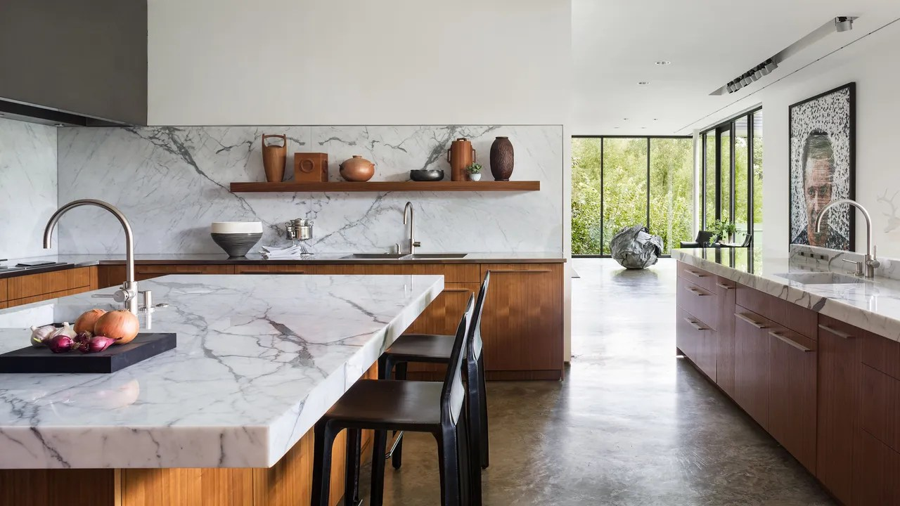 Kitchen Countertop Edges Marble Countertops A Guide To Choosing Maintaining White Marble