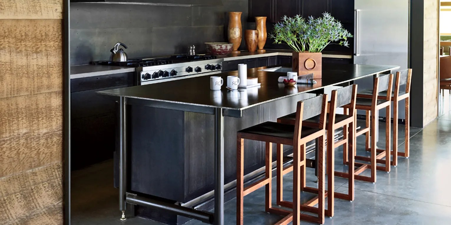 Kitchen Counter And Stools 25 Black Countertops To Inspire Your Kitchen Renovation