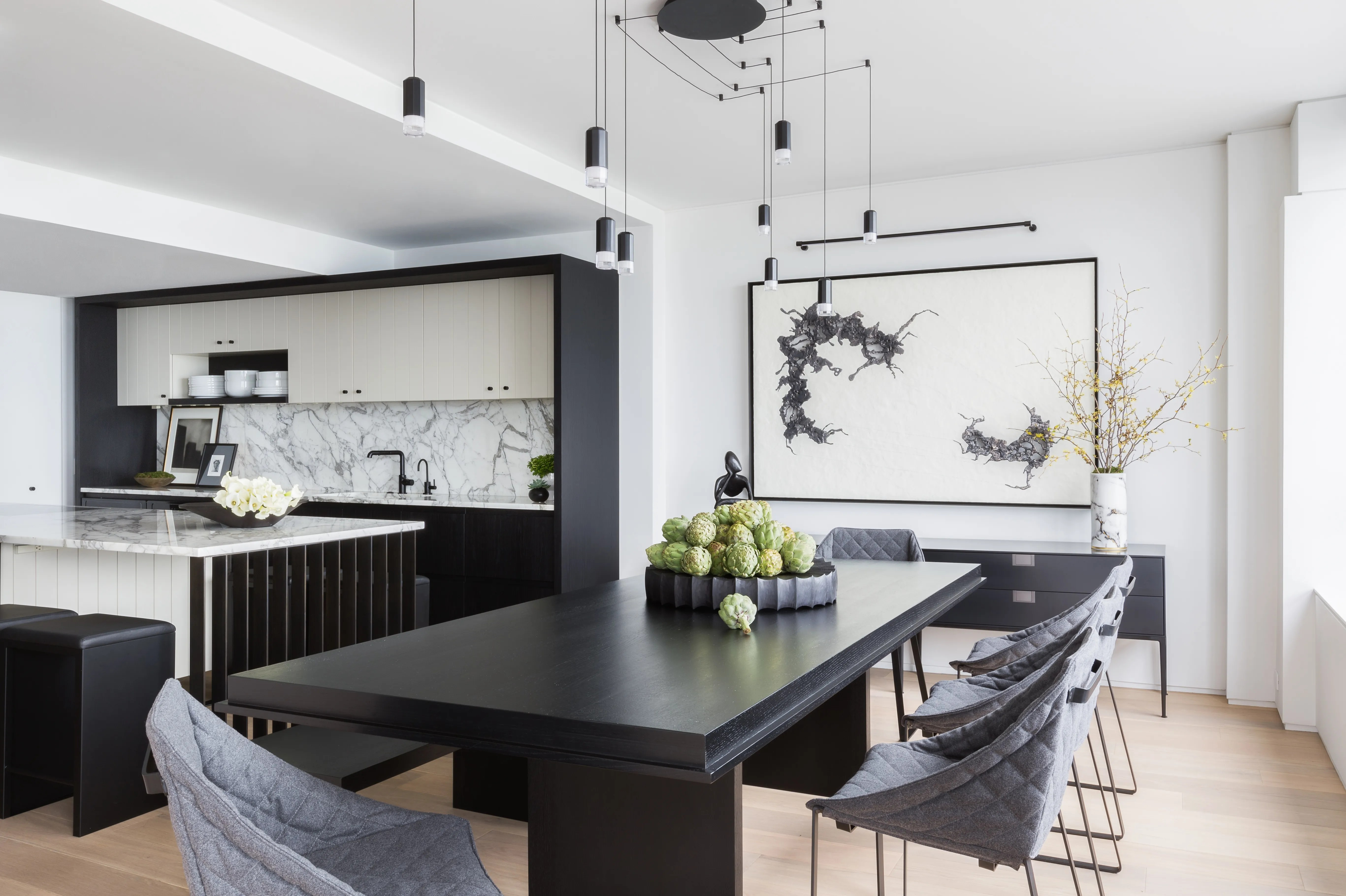Küche Und Esszimmer A Cramped Kitchen And Dining Room Become One Ideal