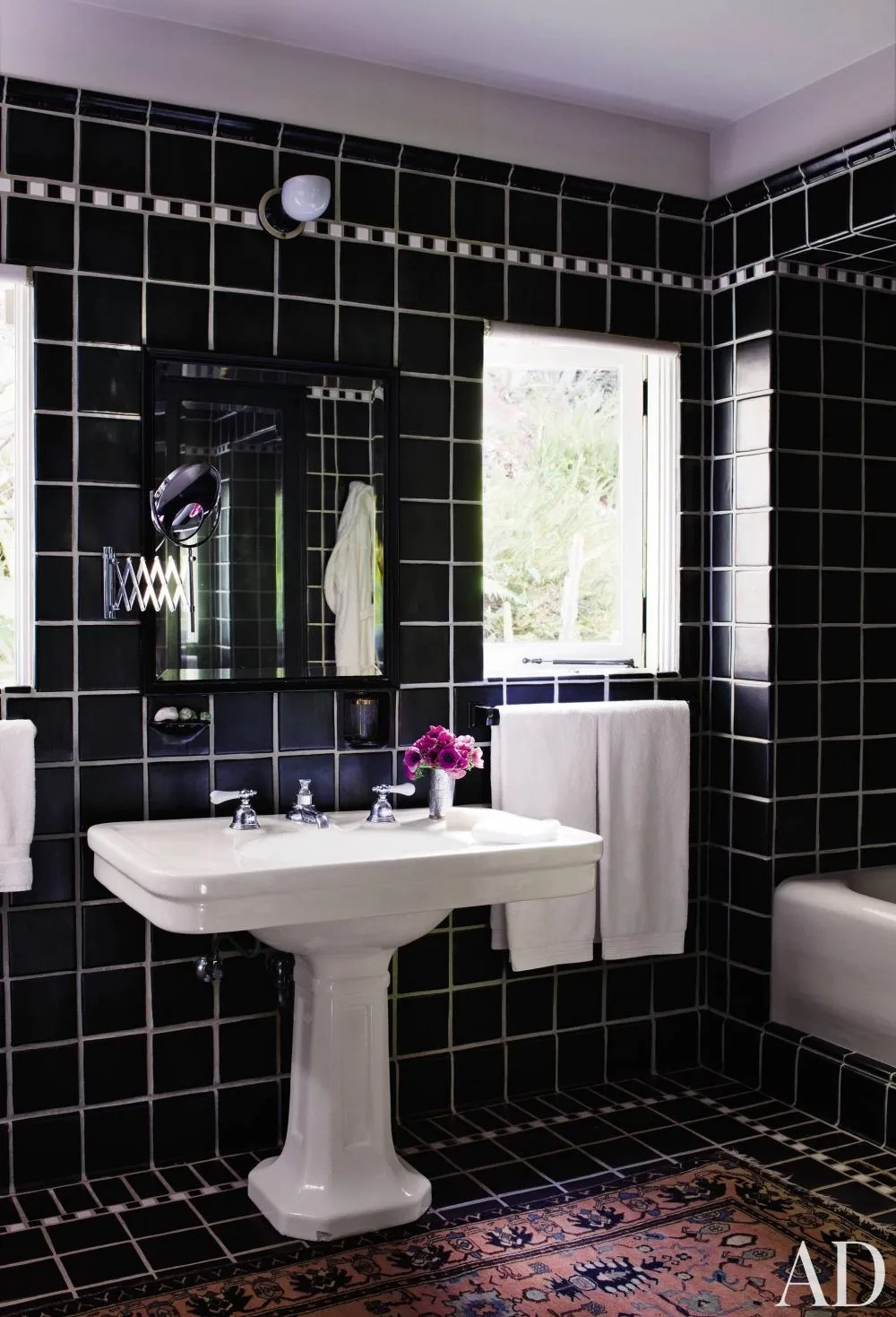 Bathroom Design Ideas That Will Make You Rethink Retro Tile Architectural Digest