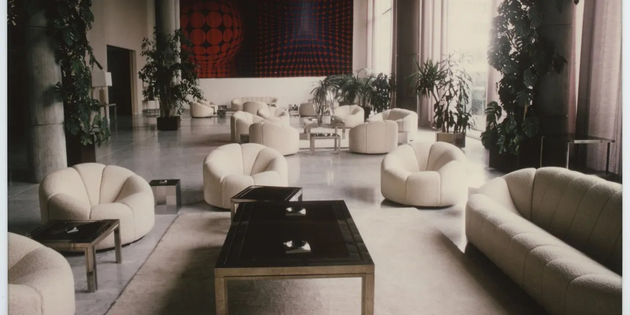 Pierre Paulin Sofa Pierre Paulin Debuts At Ralph Pucci Architectural Digest