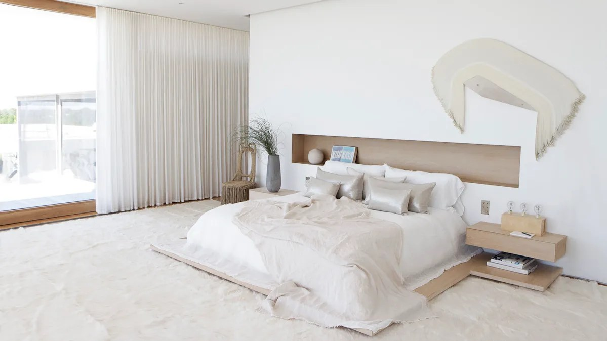 Bedroom Mattress It S Okay To Put Your Bed On The Floor Architectural Digest