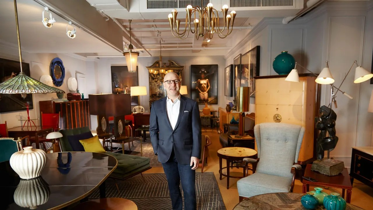 Design Regal A Day With Legendary Dealer Guy Regal Architectural Digest