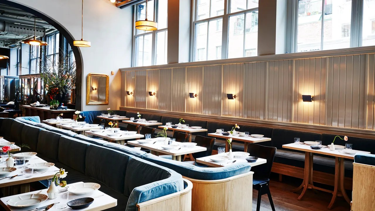 Art Deco Design Cuisine The 8 Best New Restaurants In Nyc For Food And Design