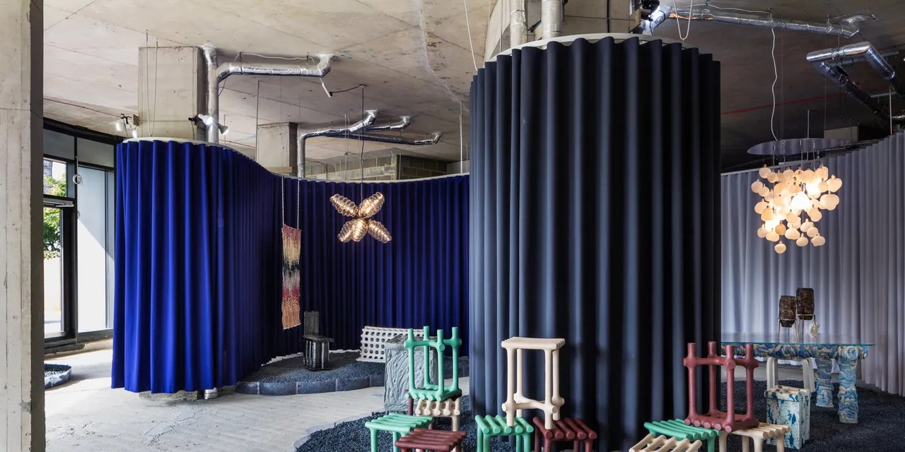 Interior Decoration With Waste Material 14 Designers Rethink Plastic Waste For Plasticscene At London