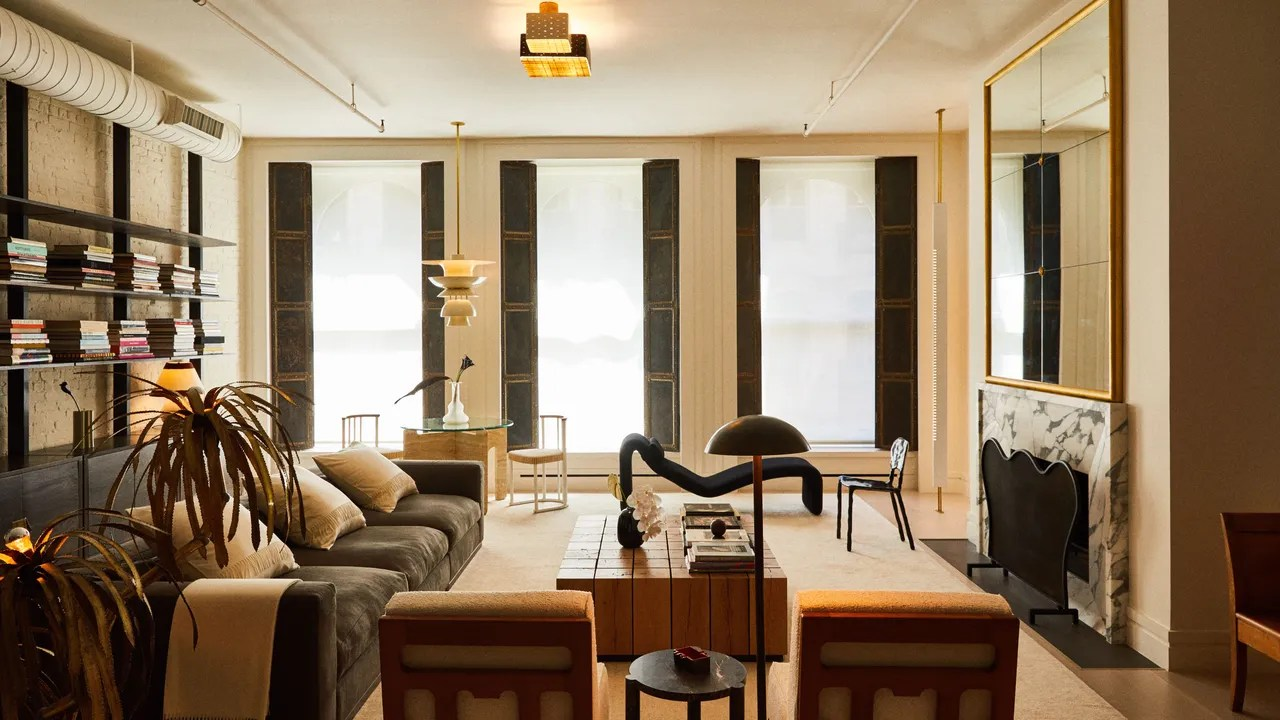 Bad Klein Modern A Modern Tribeca Apartment Where Eclecticism Reigns