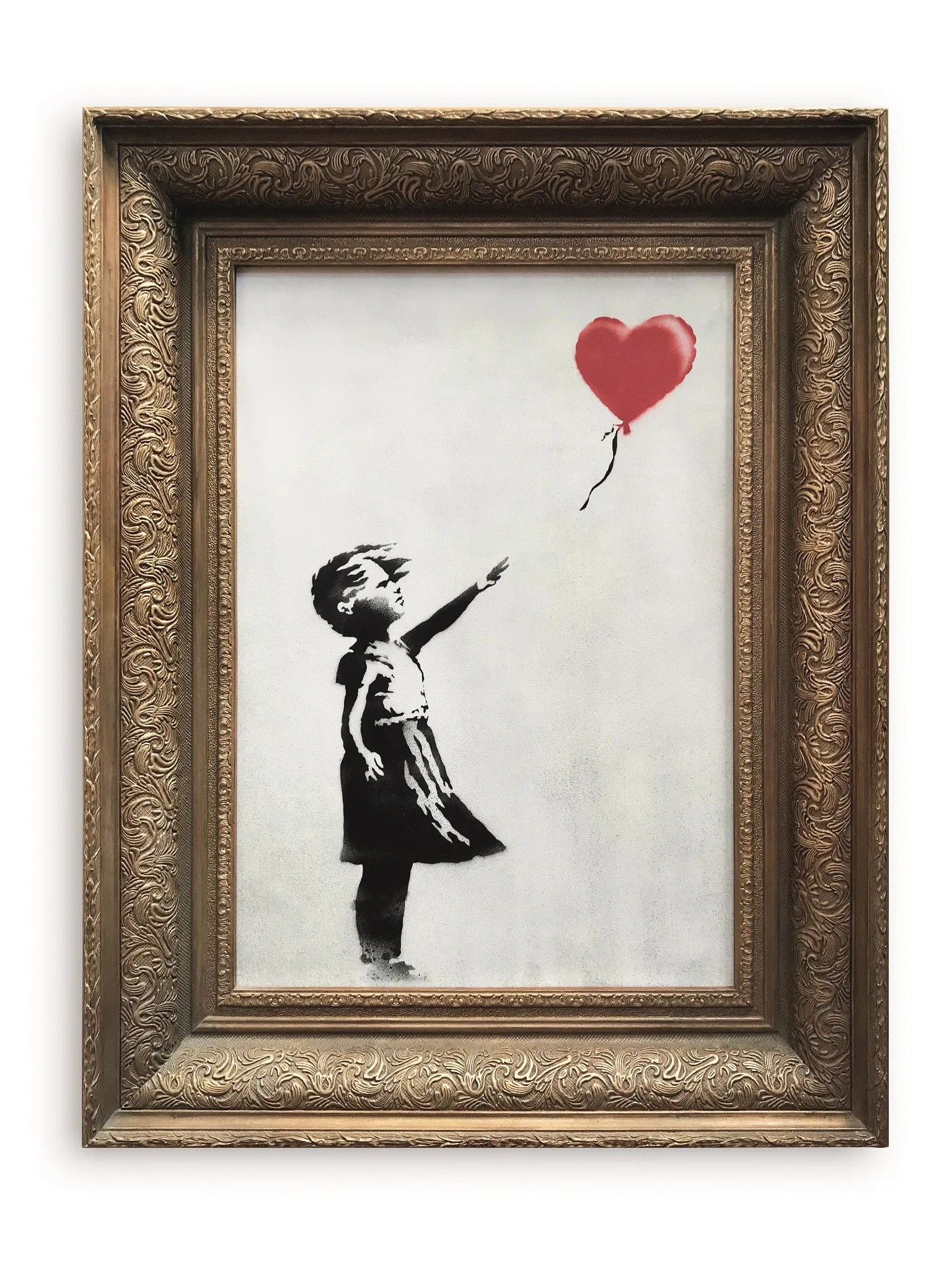 Frame Picture Banksy Claims No Collusion With Sotheby S But What About With His