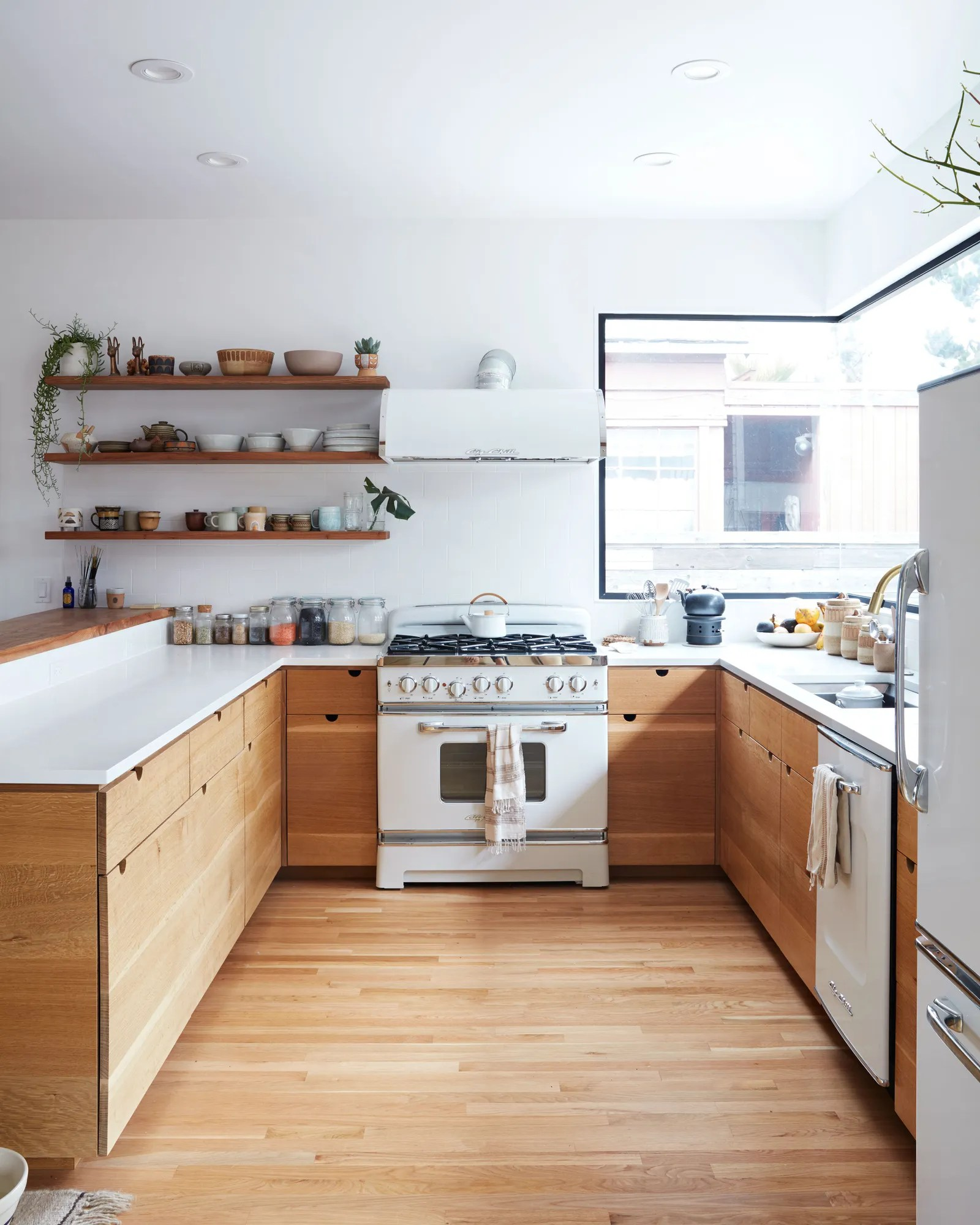 Countertop Cooking Appliances The Secret To Making White Kitchen Appliances Look Chic