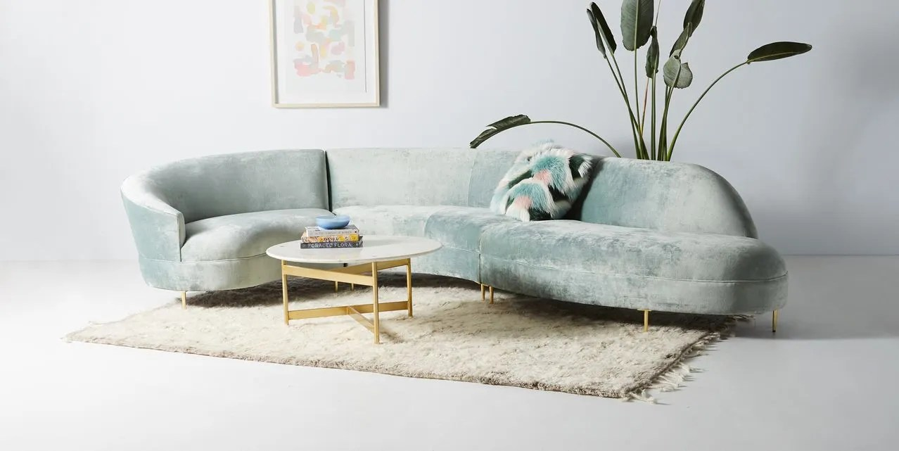 Curved Sofa Here S Why Your Home Needs A Curved Sofa Architectural Digest