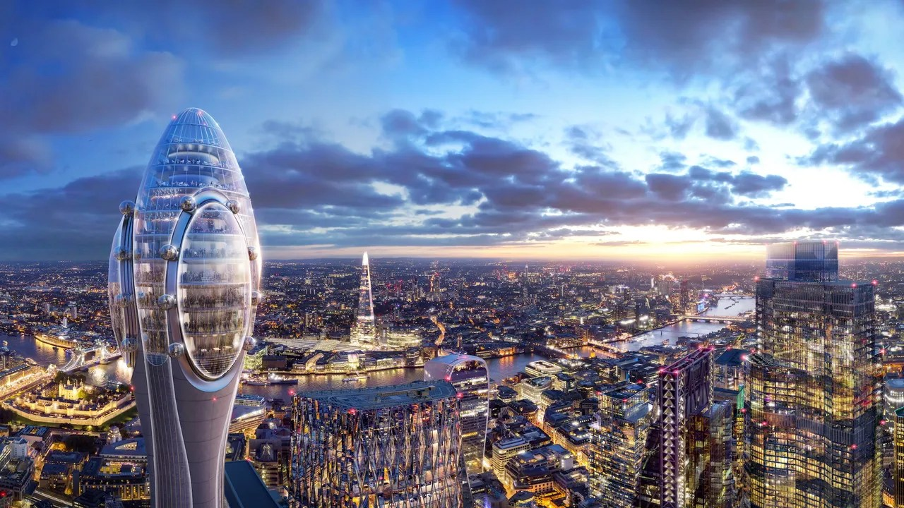 Norman Foster London Approves The Norman Foster Designed Tulip Tower