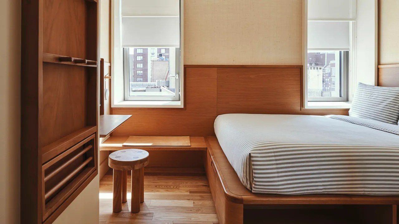 Japanese Inspired Beds The Sister City Hotel Is Inspired By Japanese Bento Boxes 4 More