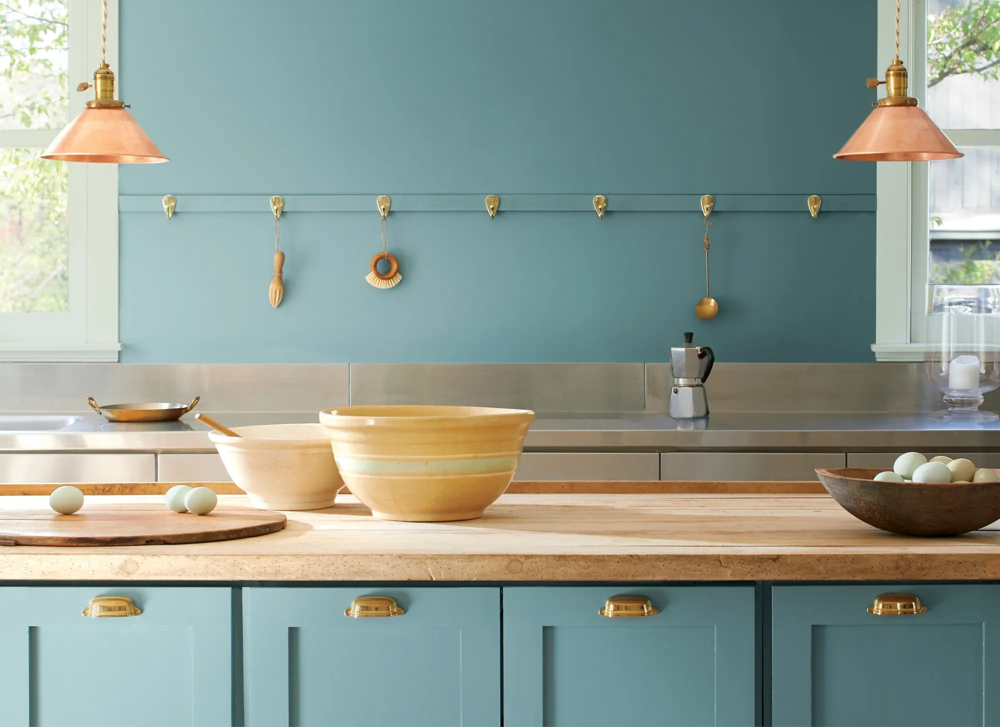 Benjamin Moore S 2021 Color Of The Year Is Aegean Teal Architectural Digest