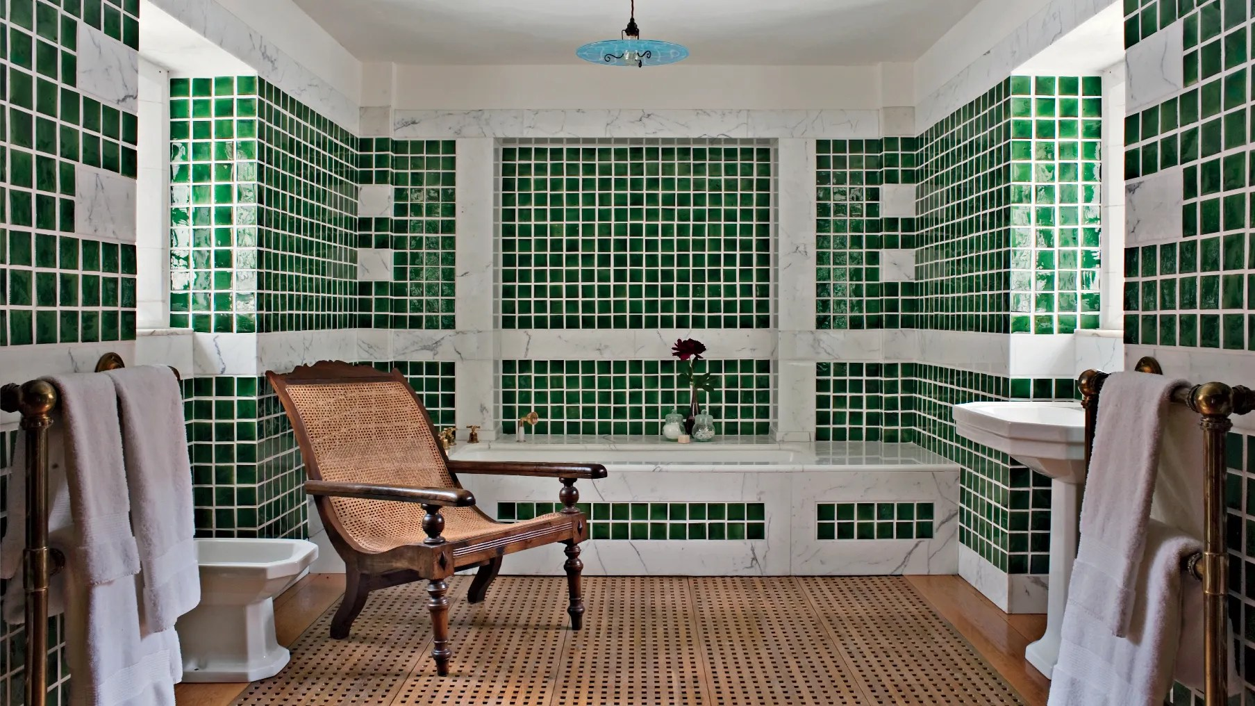 14 Times Beautiful Tiles Appear In The Ad Archive Architectural Digest