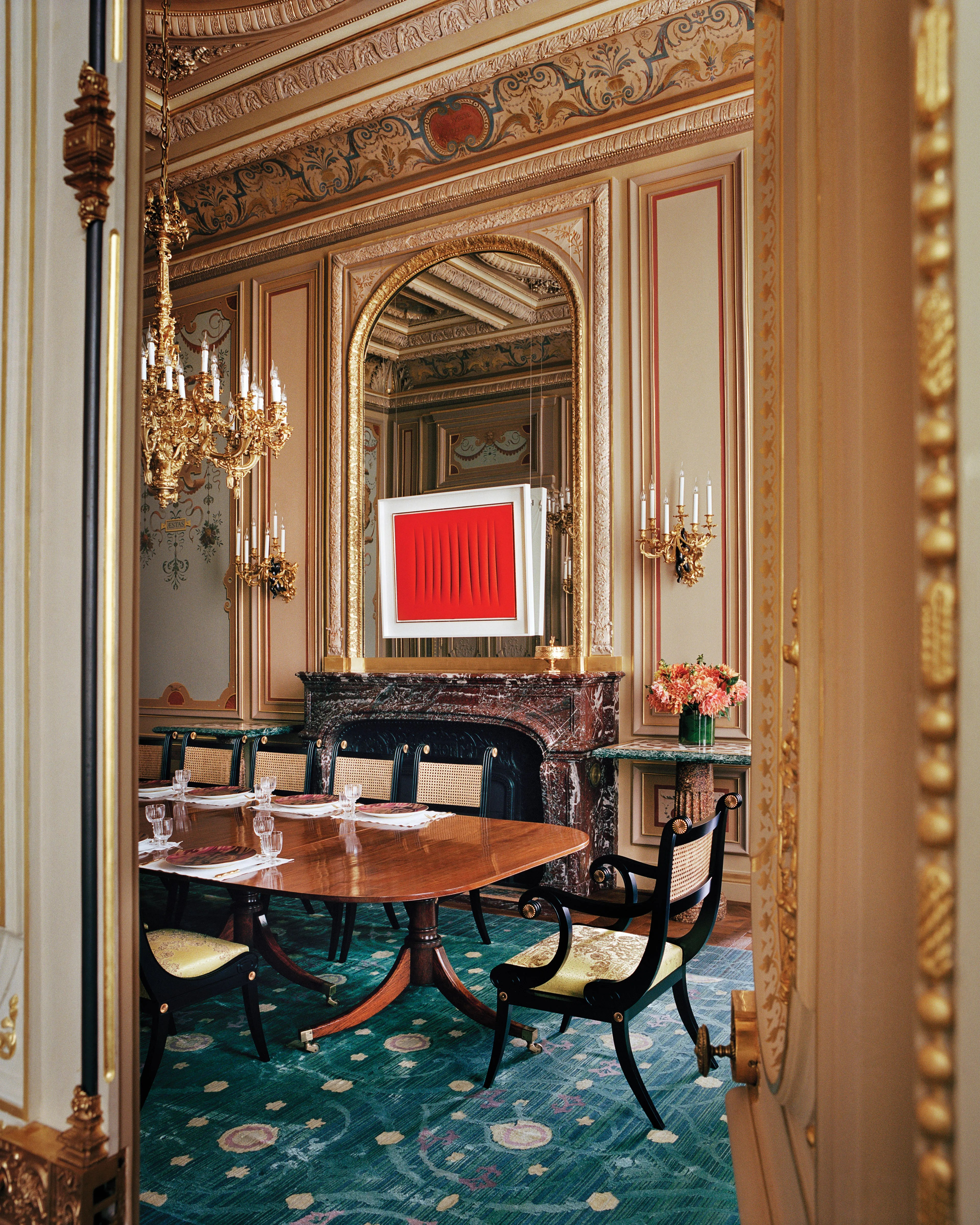 Inside This Mesmerizing Paris Mansion By Ad100 Decorator Jacques Grange Architectural Digest