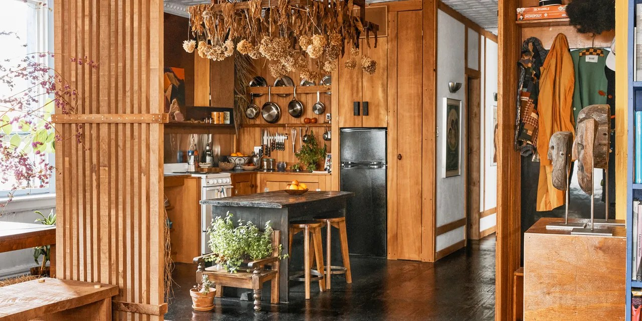 Https Www Architecturaldigest Com Story The All Wood Kitchen Is In