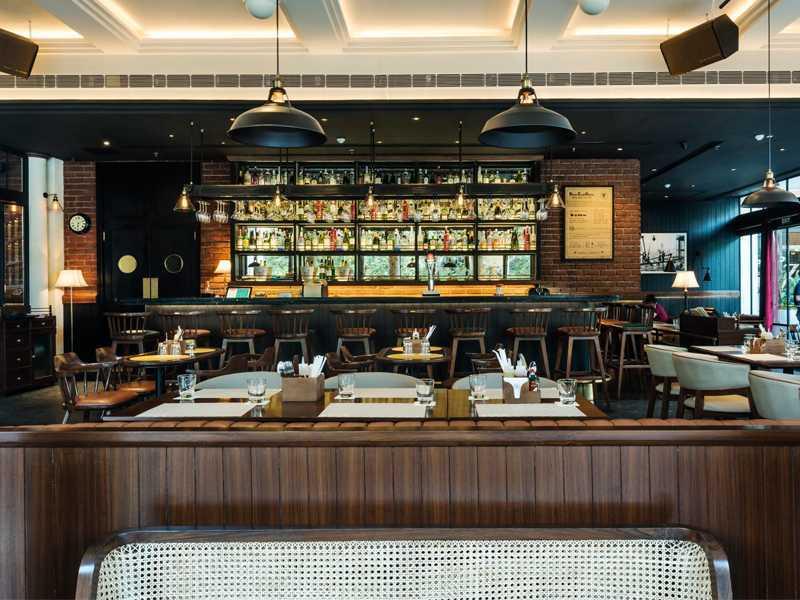 3d Wallpaper Decorating Ideas 15 Best Cafe Bar Amp Restaurant Interior Designs Ad India
