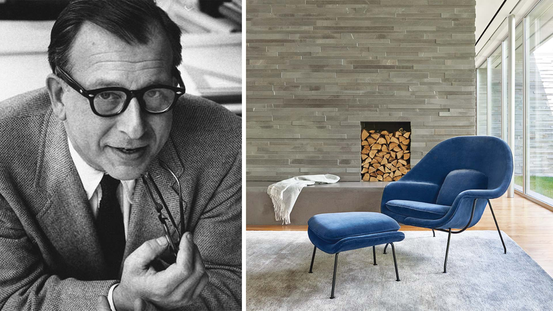 Knoll Saarinen Design As Icon The Womb Chair By Eero Saarinen Ad India