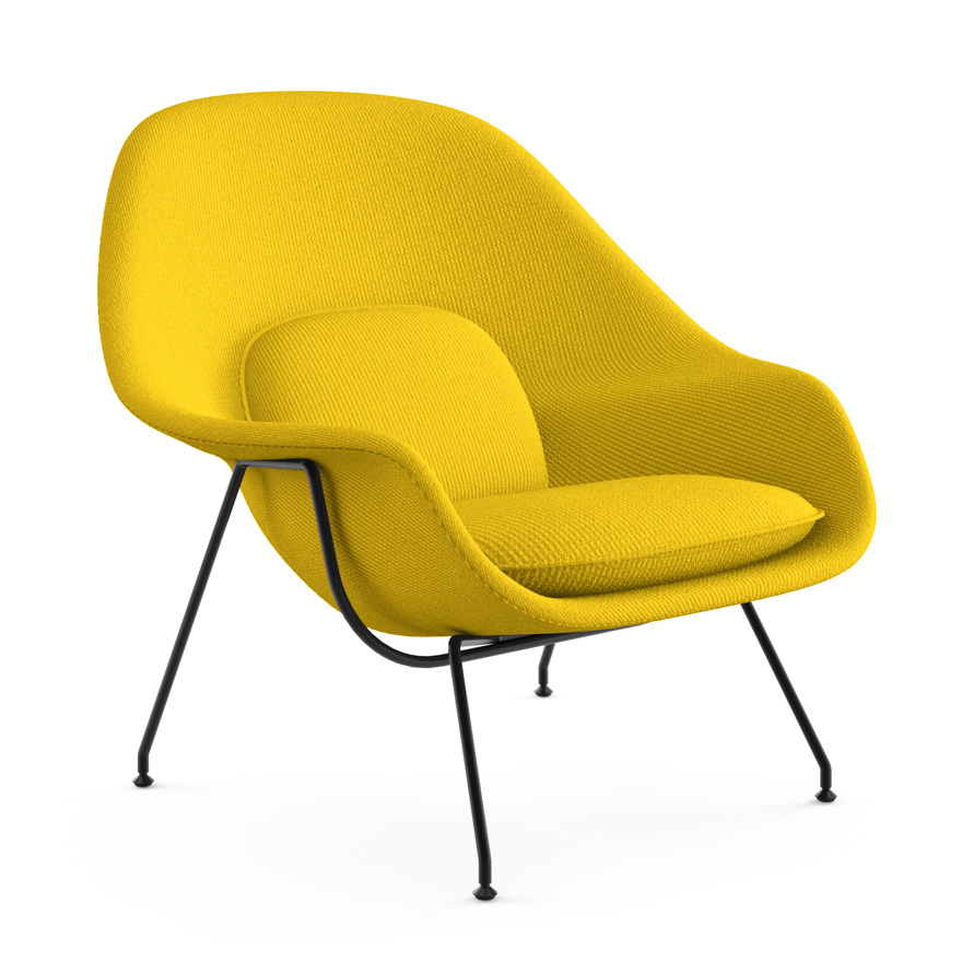 Florence Knoll Sessel Design As Icon | The Womb Chair By Eero Saarinen | Ad India