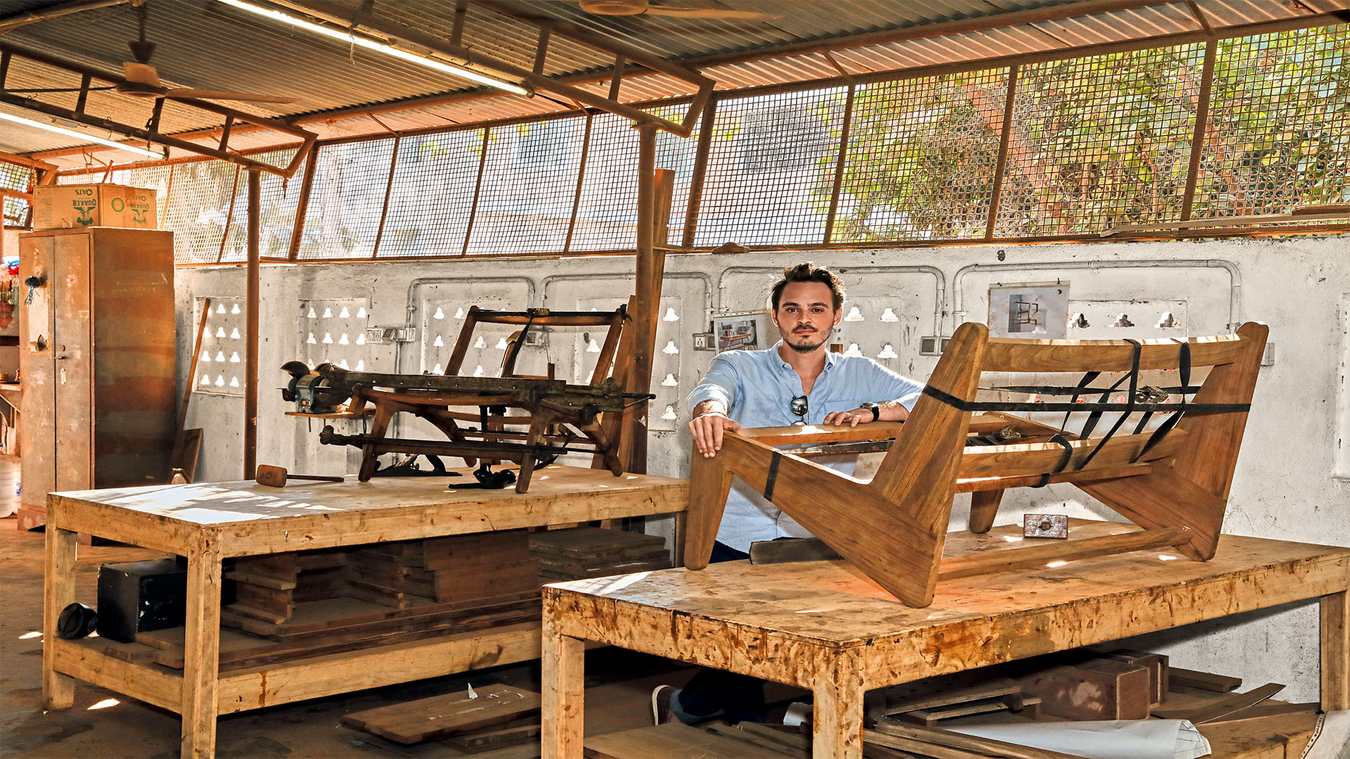 Pondicherry Meet Vincent Roy India S Most Sought After Furniture Maker
