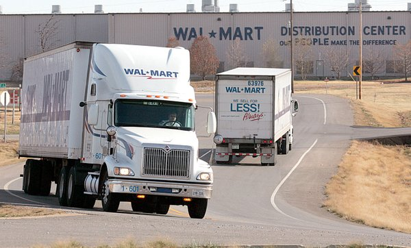 8 Vehicles Including 6 Wal Mart Trucks Shot In Oklahoma