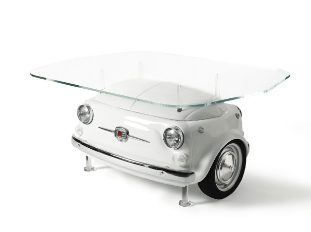 Couchtisch Fridge Fiat And Iconic Refrigerator Company Smeg Reveal The Fiat