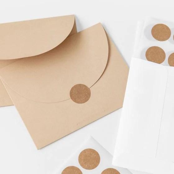 Wedding Envelope Seals Artifact Uprising