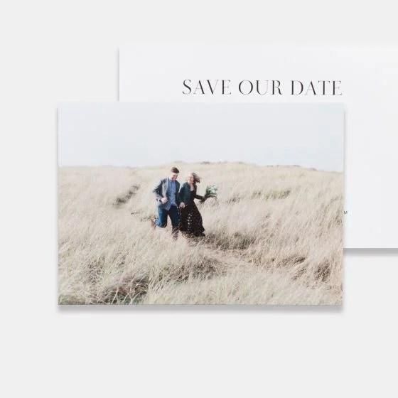 Save The Date Photo Card (Horizontal) Artifact Uprising