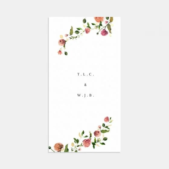 Venamour Botanical Wedding Invitation with Foil Artifact Uprising