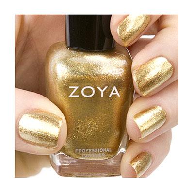 Zoya Nail Polish ZP644  Ziv  Gold Nail Polish Foil Nail Polish