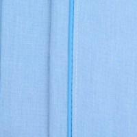 Sbana Plana K-LINE Extradoble Sesgo Azul 144 hilos ...